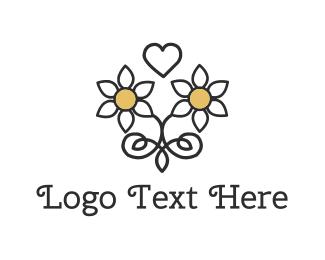 Handmade - Daisy Love logo design