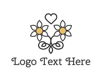 Bed And Breakfast - Daisy Love logo design