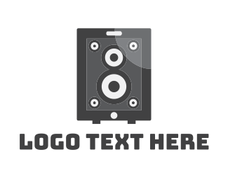 Music Festival - App Speaker logo design