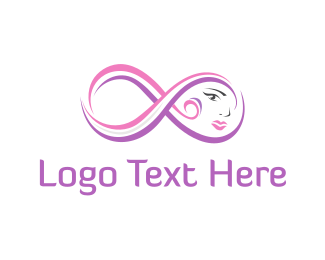 Cosmetics - Infinity Face logo design