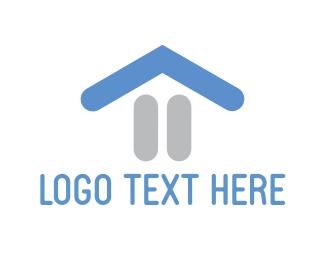 Pause - Pause House logo design