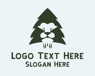Pine Lion Logo