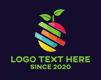 Natural - Fruit Slices logo design