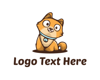 Cute Kitten Logo Maker