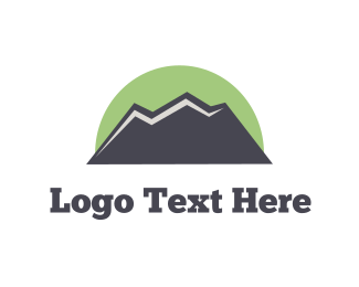 Hike - Green Mountain  logo design