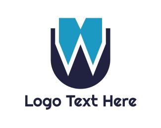 Catering - Bow Tie W logo design