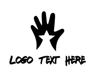 Nail Polish - Star Hand  logo design