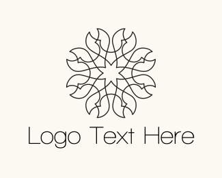 Morocco - Pincer Flower logo design