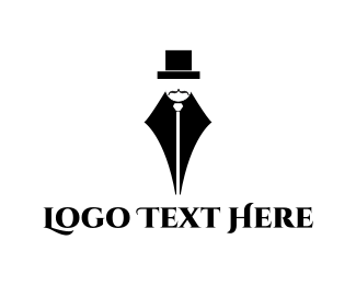 Male - Gentleman Pen logo design