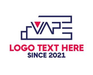 Vape - Modern Vape  logo design