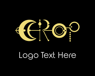 Crop - Crop Moon logo design