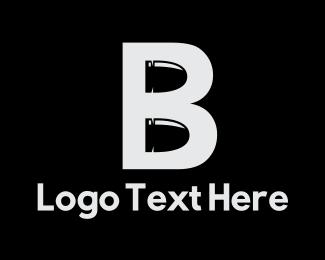 Bullet - Bullet Letter B logo design