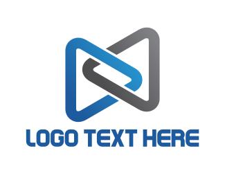Media Player -  Play Buttons logo design