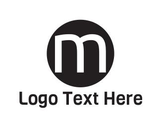 Underground - Black Letter M logo design