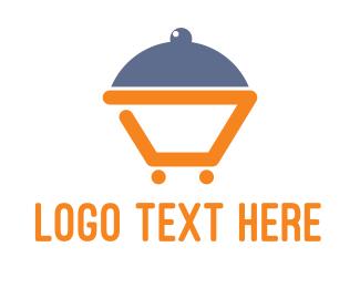 Dinner - Abstract Dinner Cart logo design