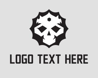 Zombie - King Skull logo design