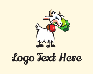Cattle - Radisih & Goat logo design