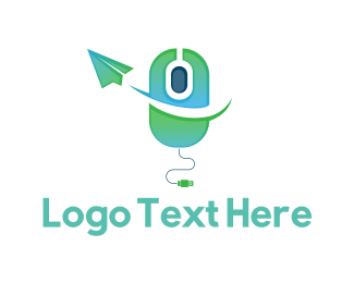 Hardware - Click  Message logo design