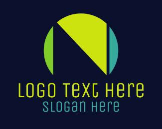 Letter N - Minimalist Letter N logo design
