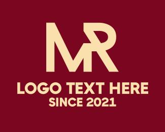 Initial - Mister logo design
