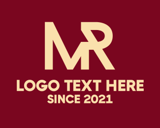 Mr - Mister logo design