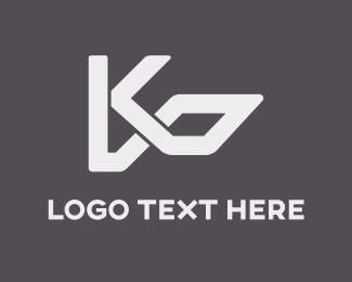 Letter P - White Letters logo design