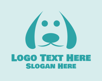 Doggie - Cute Dog logo design