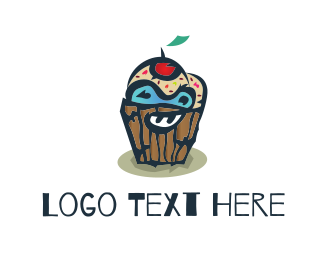 Monster - Monster Cupcake logo design