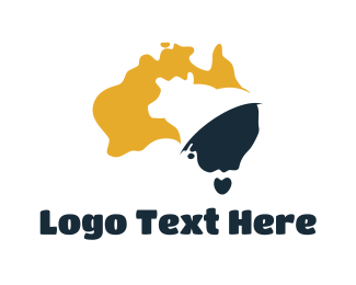 Cheese - Australia Dairy logo design