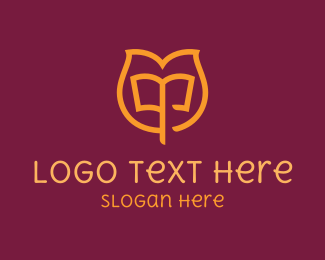 Lotus Book Logo Maker