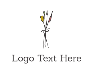 Flower Bouquet Logo