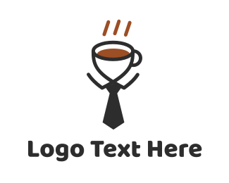 Office - Coffee Business logo design