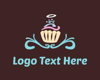 Chef - Angel Cupcake logo design