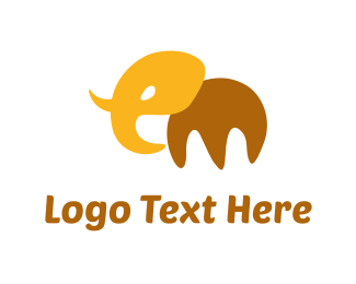 Big - Abstract Elephant logo design