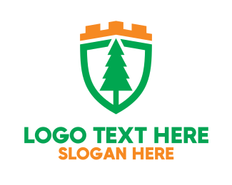 Sustainability - Royal Pine Shield logo design