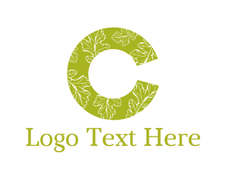 Foliage - Eco Letter C logo design