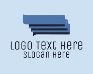 Conversation - Blue Conversations logo design