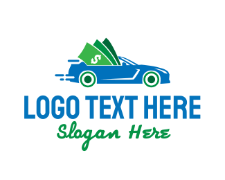 Dollar - Cash Car logo design