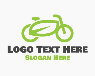 Sustainability - Green Bike logo design