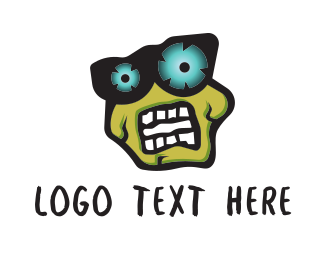 Multimedia - Zombie logo design
