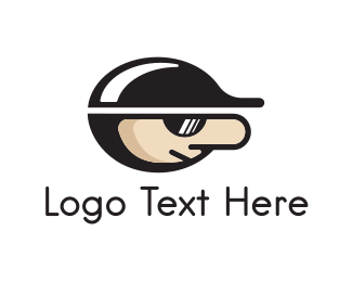 Cap - Cap & Sunglasses logo design