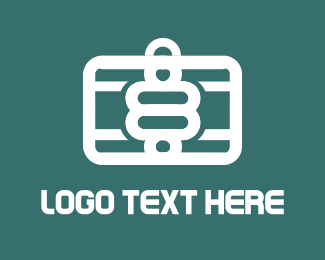 Briefcase - Eight Travel logo design