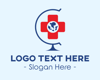 Global - Global Hospital logo design