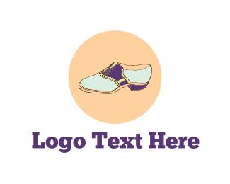 50s - Bowling Shoe logo design