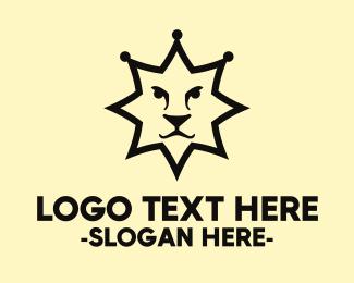 Lion - Sheriff Lion logo design