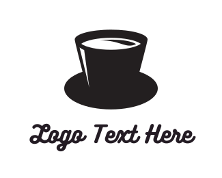 Top Hat - Magic Coffee logo design