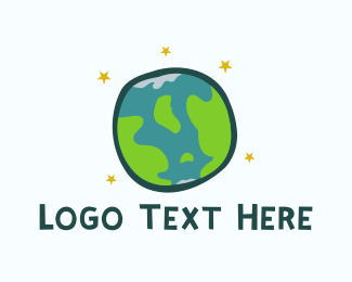 Map - Children World logo design