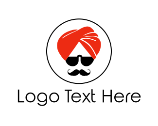 India - Cool Turban logo design