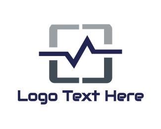 Connectivity - Pulse Tablet logo design