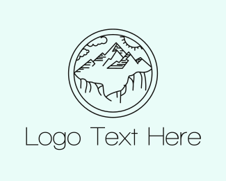 Background - Mountain View logo design